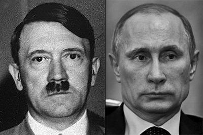 Putin a Hitler
